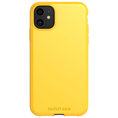 Antimicrobial Backcover iPhone 11 - Yellow - Geel / Yellow Mobile phone case