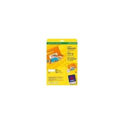 Avery White Mini Label, Inkjet 46 x 11,1mm (25) Etiket - Wit