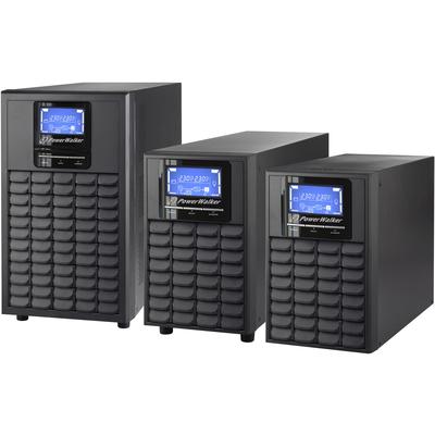 PowerWalker VFI 3000C LCD UPS - Zwart