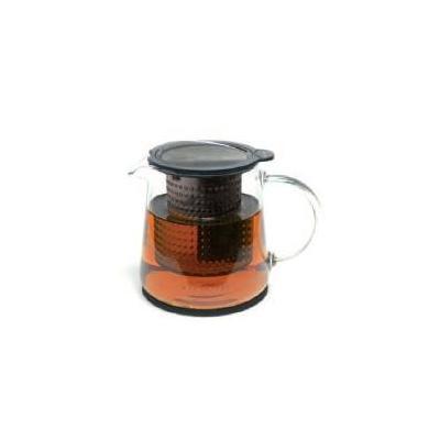 Finum theezetapparaat: Tea Control - Zwart, Grijs, Transparant