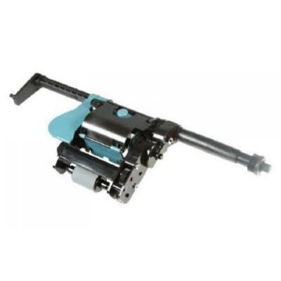 Hp printing equipment spare part: Automatic document feeder (ADF) paper pick-up roller assembly - Blauw, Roestvrijstaal