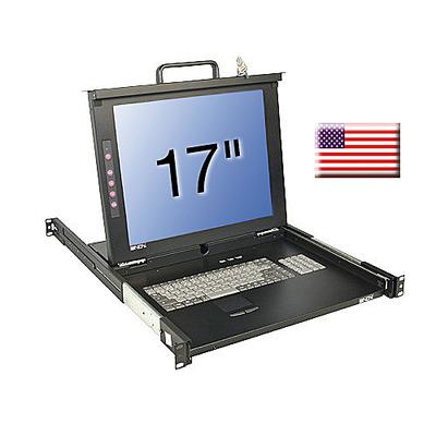 Lindy 21611 Rack console - Zwart