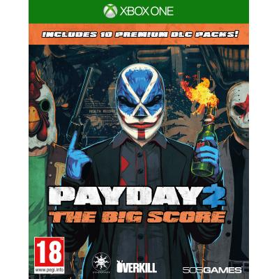 505 games game: Payday 2, The Big Score  Xbox One