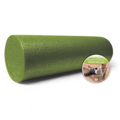 Gaiam fitness, gymnastiek & gewichtstraining: Gaiam, Muscle Therapy Foam Roller - 45cm (Groen)