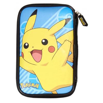 Bigben interactive portable game console case: Nintendo 3DS XL hoesje met Pikachu - Blauw, Geel