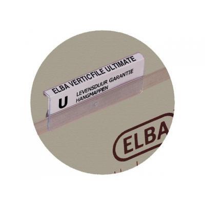 Elba indextab: Ruiter ultimate 65mm kleurloos/pk25