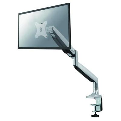 Newstar monitorarm: NM-D750SILVER bureausteun met gasveer voor flat screens - Zilver