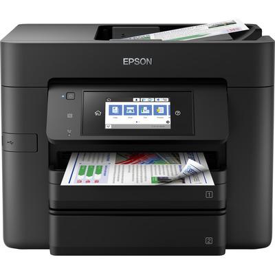 Epson WorkForce Pro WF-4740DTWF Multifunctional - Zwart, Cyaan, Magenta, Geel