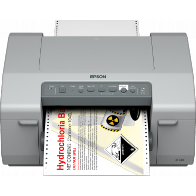 Epson GP-C831 Labelprinter - Zwart, Cyaan, Magenta, Geel
