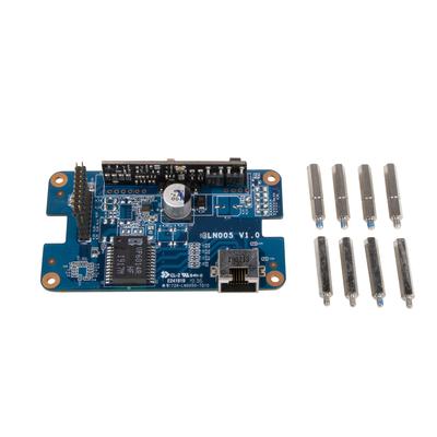Shuttle PSE01 Gigabit LAN with PoE Output (Power Out) Netwerkkaart - Zwart, Blauw