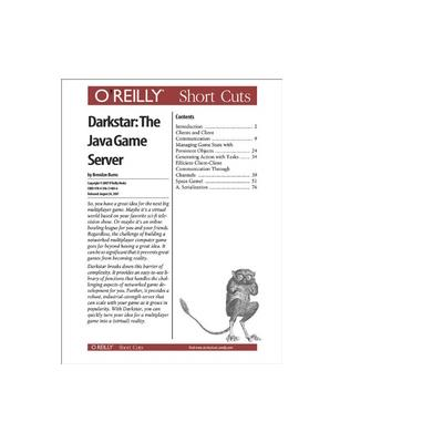 O'reilly boek: Media Darkstar: The Java Game Server - eBook (PDF)
