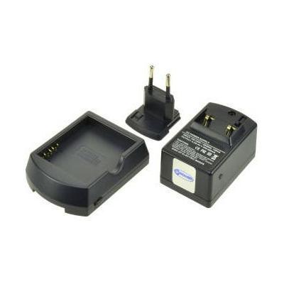 2-power oplader: Battery charger for HP iPAQ HX2490, black - Zwart