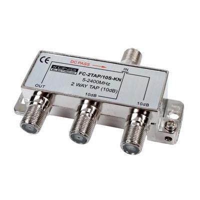 König kabel splitter of combiner: 2-Weg Tap, 5-2400MHz, 10dB