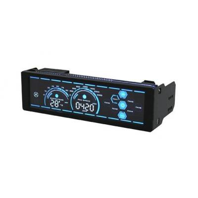 LC-Power LC-CFC-2 Ventilator snelheidcontroller - Zwart