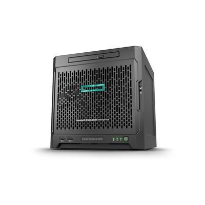 Hewlett Packard Enterprise server: ProLiant MicroServer Gen10 x3421 + 8GB + 2x1TB HDD bundle