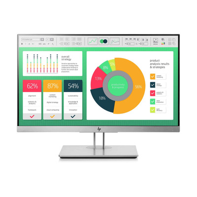 HP EliteDisplay DISPLAY BUNDEL 5 UNITS E223 Monitor - Zwart, Zilver