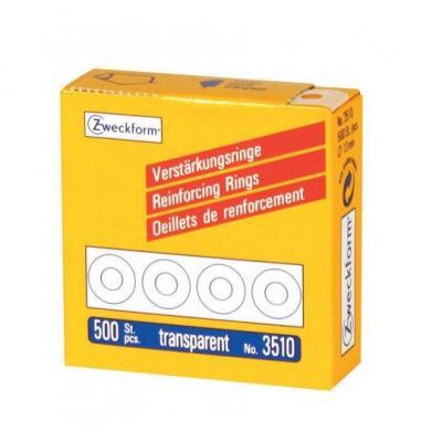Avery VERSTERKINGSRINGEN AZ 3510 TR - Transparant
