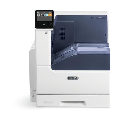 Xerox laserprinter: VersaLink VersaLink C7000 A3 35/35 ppm Printer Adobe PS3 PCL5e/6 2 laden totaal 620 vel - Wit