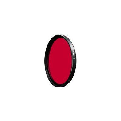 B+w camera filter: 39mm Dark Red SC (091) - Zwart