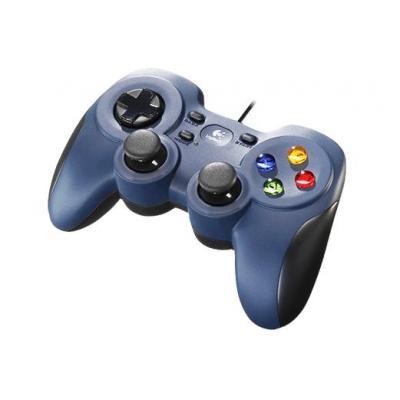 Logitech game controller: F310 - Zwart, Blauw