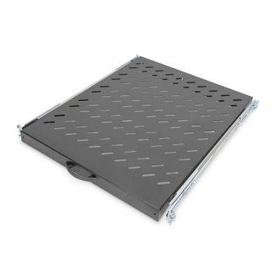 Digitus Sliding Shelf for 800mm depth Cabinets Rack toebehoren - Zwart
