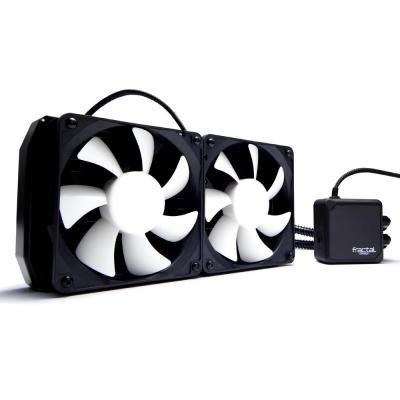 Fractal design water & freon koeling: S24 - Zwart, Wit
