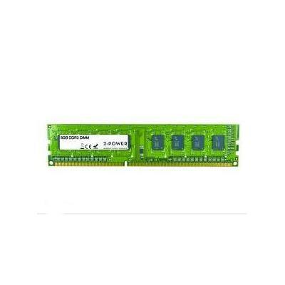 2-power RAM-geheugen: 8GB MultiSpeed 1066/1333/1600 MHz DIMM - Groen