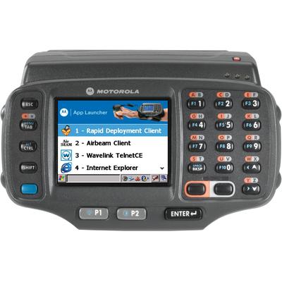 Zebra PDA: WT41N0 - Zwart, Alphanumeric