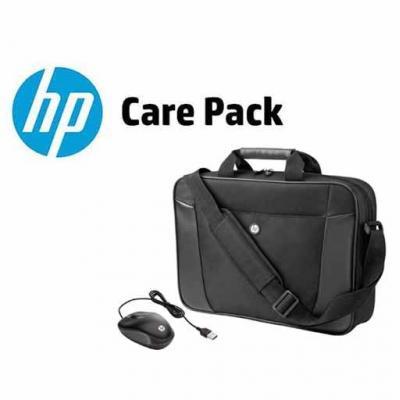 HP garantie: 3 jaar Pick up and Return garantie + Essential Notebooktas + USB Travel Mouse