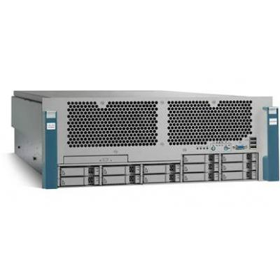 Cisco server barebone: UCS C460 M2 - Blauw, Grijs