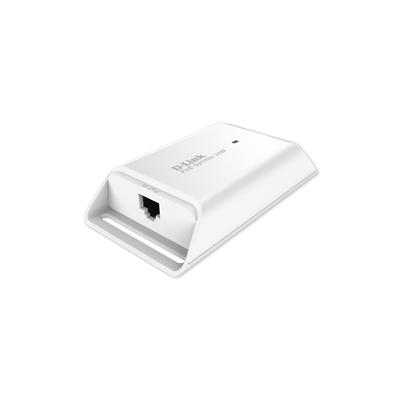 D-Link 1-Port Gigabit PoE Splitter, White PoE adapter - Wit
