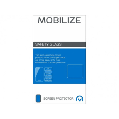 Mobilize Safety Glass Huawei Mate 8 Screen protector - Transparant