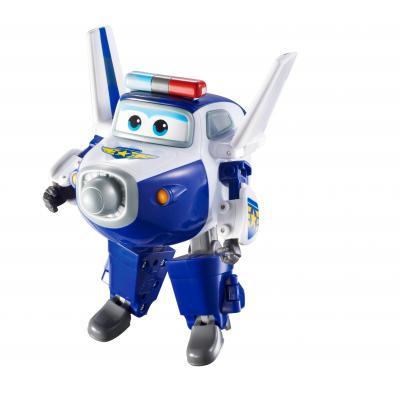 Alpha animation & toys toy vehicle: Super Wings Speelfiguren Transforming! Paul - Blauw, Wit