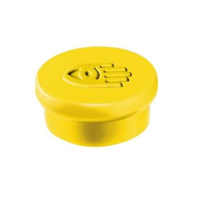 Legamaster Magnet 10mm yellow 10pcs Board accessorie - Geel