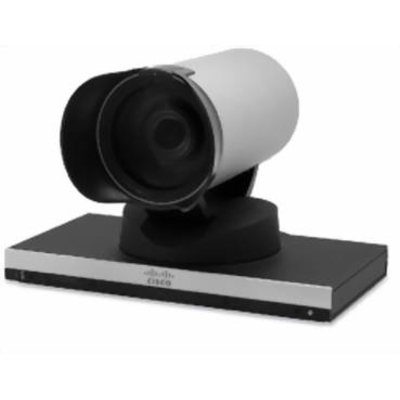 Cisco PrecisionHD Webcam - Zwart, Zilver
