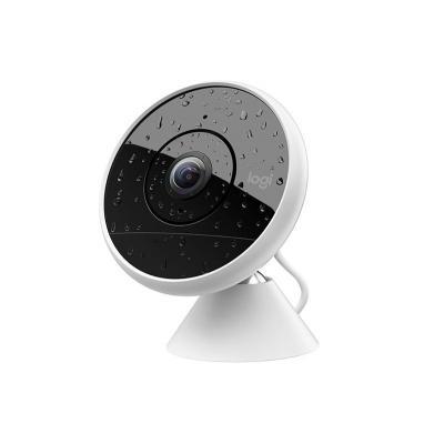 Logitech beveiligingscamera: CIRCLE 2 - Zwart, Wit