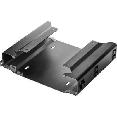 HP Desktop Mini beveiligingsrek met twee VESA-adapters v2 Montagekit - Zwart