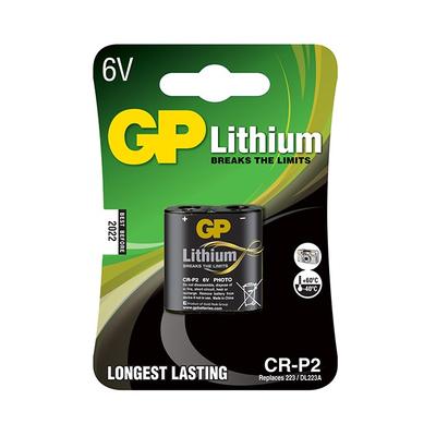GP Batteries CR-P2 - Zwart