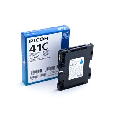 Ricoh GC 41C, 2200 pagina's Inktcartridge - Cyaan