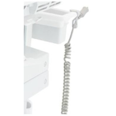 Ergotron SV Replacement Coiled Cord, LiFe Carts, EU Electriciteitssnoer - Wit