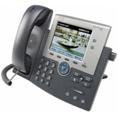 Cisco IP telefoon: 7945G - Grijs, Zilver