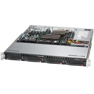 Supermicro SuperServer 6018R-MT Server barebone - Zwart