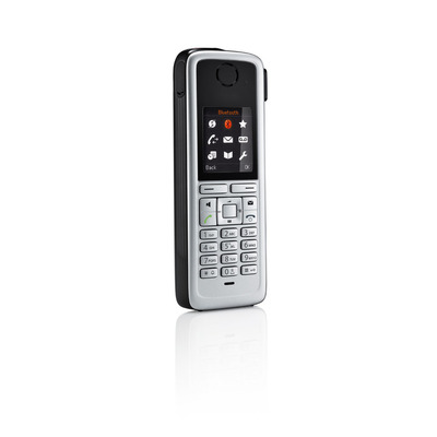 Unify telephone headset: OpenStage M3 Ex Plus - Zwart, Zilver