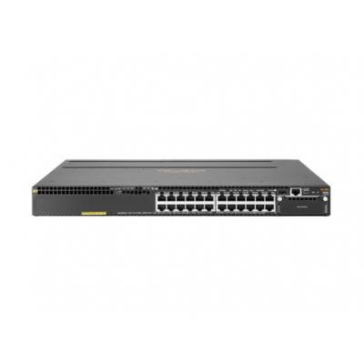 Hewlett Packard Enterprise switch: Aruba 3810M-24G-PoE+ - Zwart