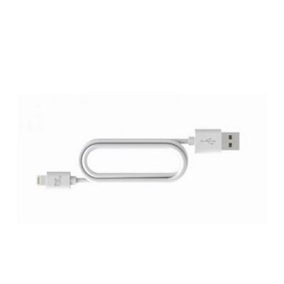 Bluelounge kabel: 0.2m, Lightning - Wit