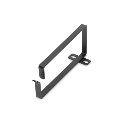 Digitus 3U cable management ring, 70x150 mm 10 pieces, color black (RAL 9005) Rack toebehoren - Zwart