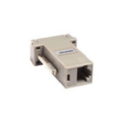 Raritan RJ-45(F) -> DB9(F) adapter Kabel adapter - Grijs