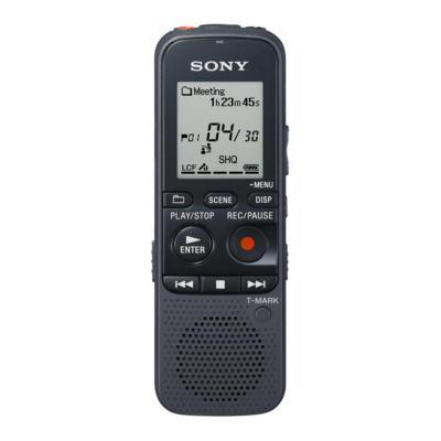 Sony voice recorder: Mp3-opnamen van hoge kwaliteit (192 kbps), 4 GB, luidsprekeruitgang van 300 mW, geheugenkaartsleuf .....