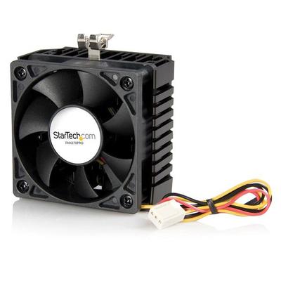 StarTech.com 65x60x45mm Socket 7/370 CPU Koelventilator met Heatsink en TX3 Connector Hardware koeling - .....