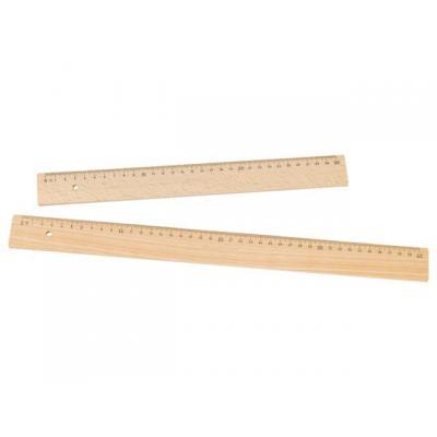 Rumold lineaal: Liniaal 300mm hout